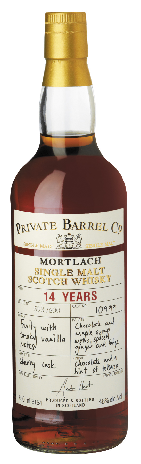 Mortlach 14yo - Private Barrel Co
