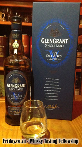 Tasting Glen Grant Five Decades