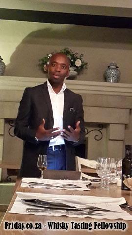 Thami Banda - SA Glenfiddich ambassador