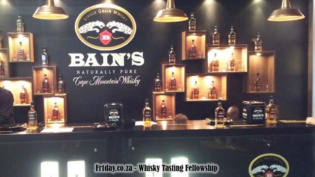Fnb whisky live festival a look back whisky tasting for Bain s whisky