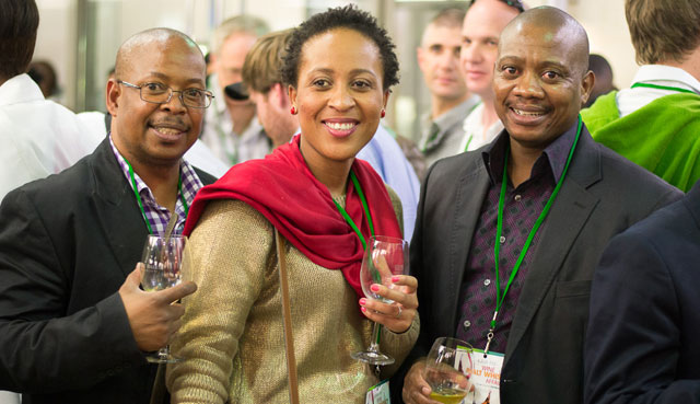 Happy attendees at the Kaya FM Wine & Malt Whisky Affair