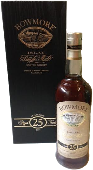 Bowmore 25 year old - A great whisky