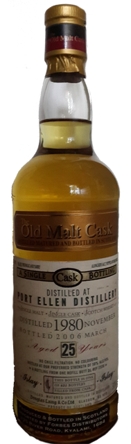 A Port Ellen 25yo - a very sought after distillery