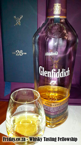 Sipping On The Glenfiddich Excellence 26yo