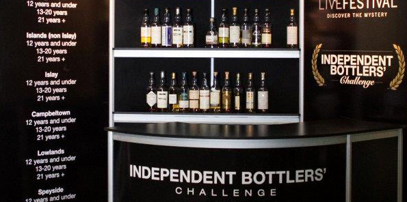 IBC Stand at last year's Whisky Live Festival