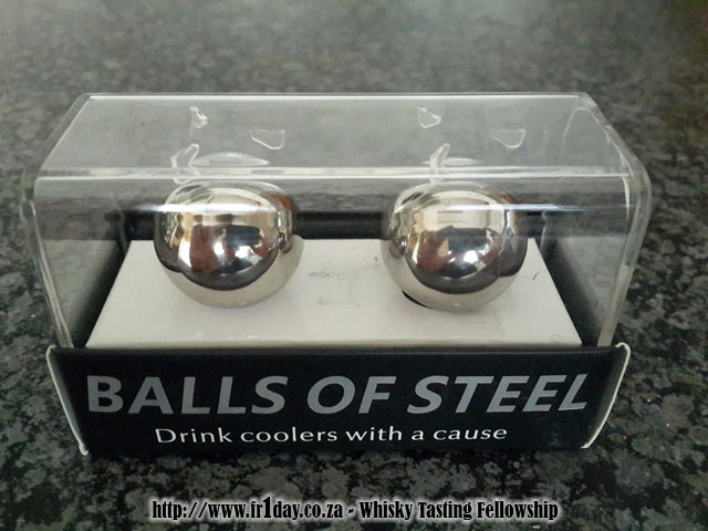 Balls of Steel whisky coolers