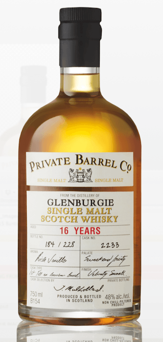 Private Barrel Co Glenburgie 16 year old