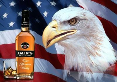 Bain's Whisky In America