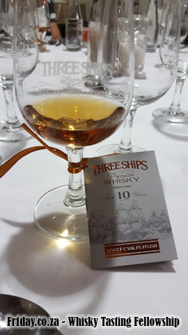 Tasting the Three Ships Single Cask PX Finish