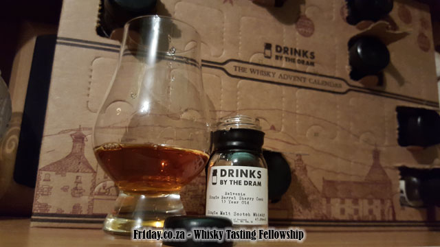 Day 8 - The Balvenie Single Barrel Sherry Cask 15yo