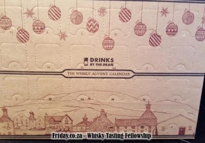 DrinksByTheDram 2015 Whisky Advent Calendar
