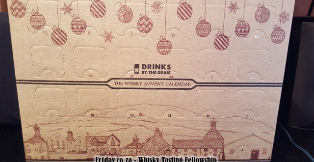 DrinksByTheDram 2015 Whisky Advent Calendar