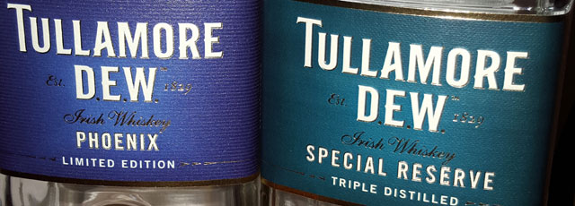 Tullamore D.E.W. Phoenix and 12yo