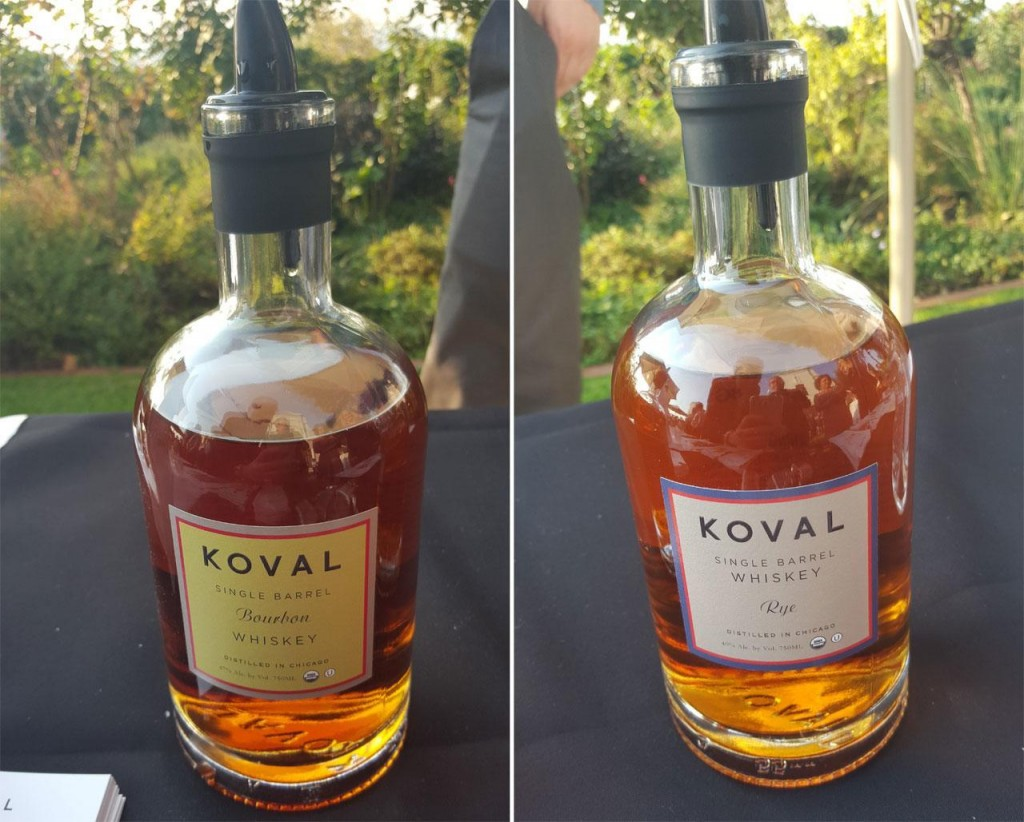KOVAL Single Barrel Bourbon and Rye