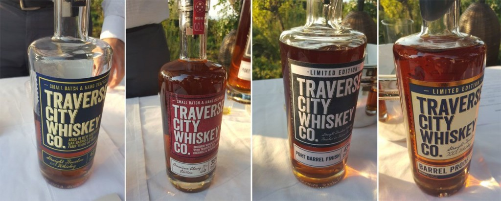 Traverse City Whiskey Co. Line-up