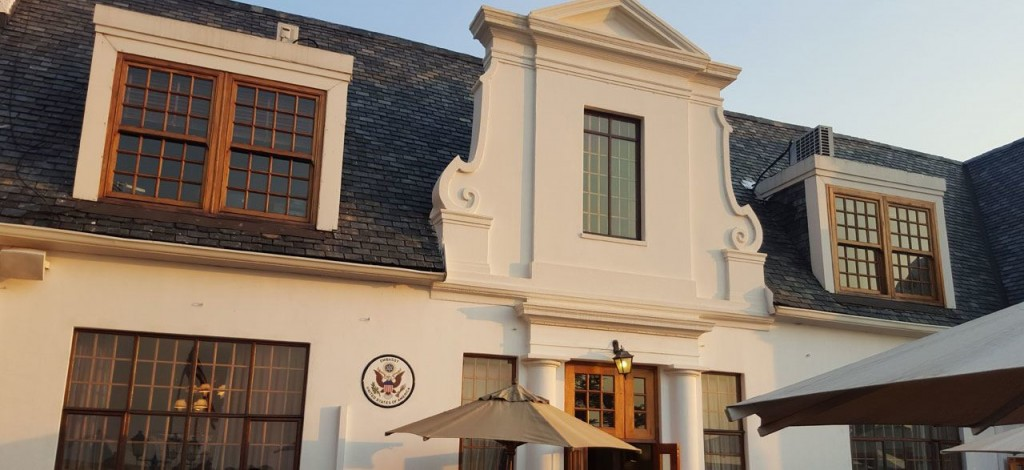 US Ambassadors home in South Africa