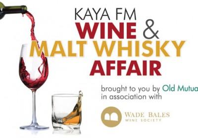 2016 Kaya FM Wine and Malt Whisky Affair