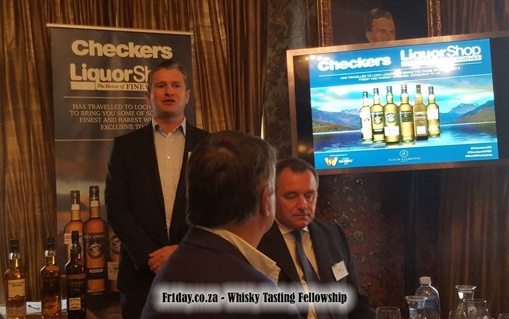 Joseph Bronn from Checkers Liquorshop Introduces Loch Lomond and Glen Scotia
