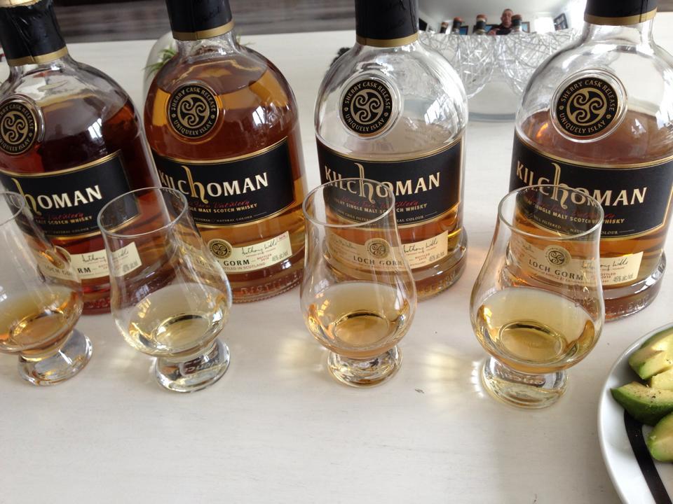 Kilchoman Loch Gorm side-by-side tasting