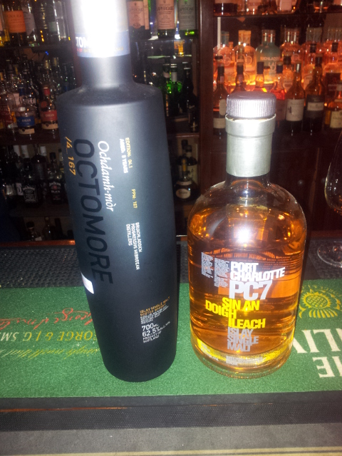Octomore and Port Charlotte PC7