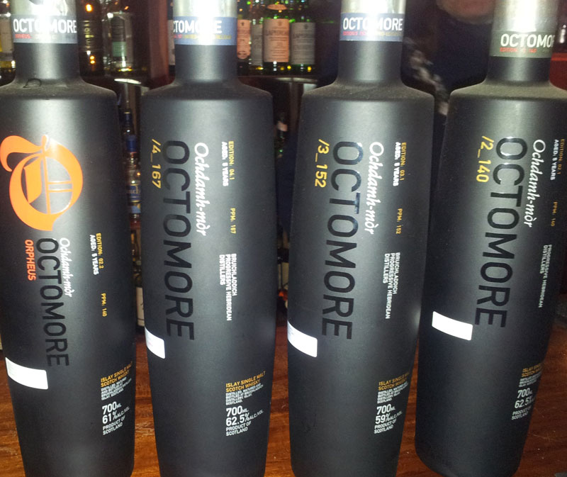 Octomore times four!