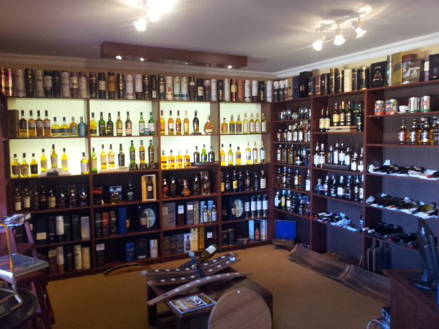 Hitting the Wild About Whisky Retail shop