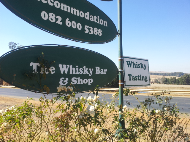 Wild About Whisky signage