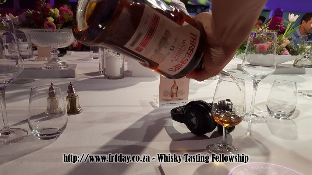 First pour of the Three Ships Pinotage Cask Finish Whisky