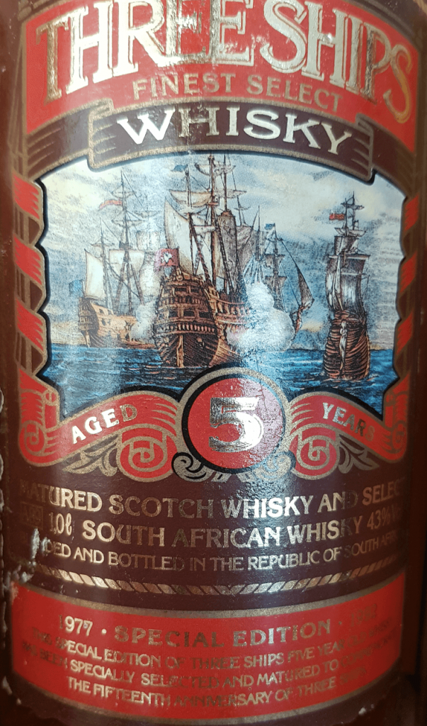 Three Ships 5yo 15th Anniversary