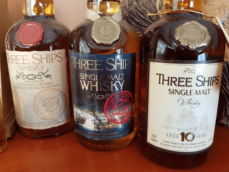 Three Ships Whisky History