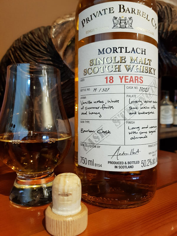 Private Barrel Co Mortlach 18 Year Old