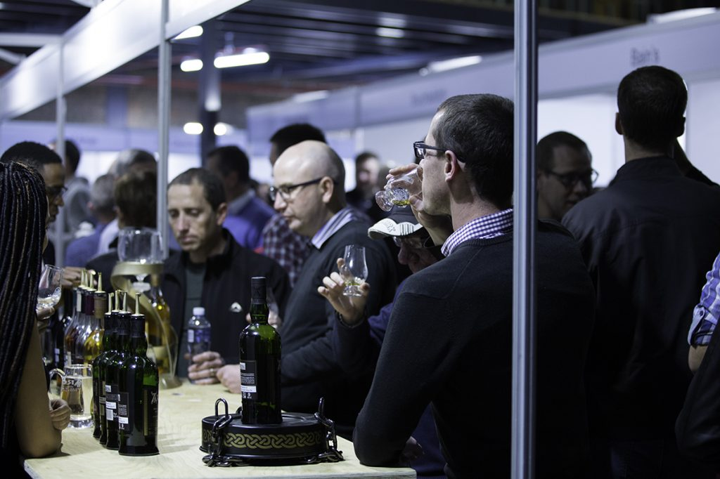 The Only Whisky Show Brand Stands