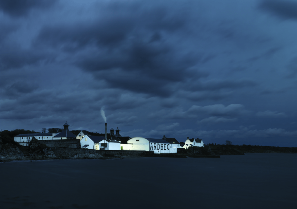 Ardbeg at Night