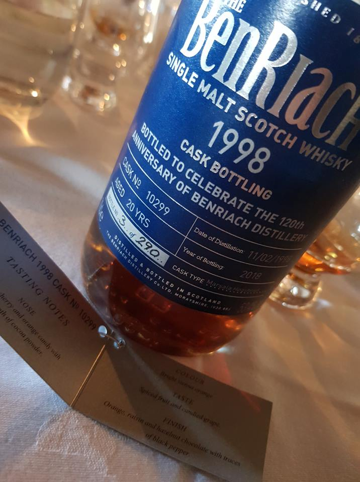 Benriach 1998 20yo 120th Anniversary Bottling