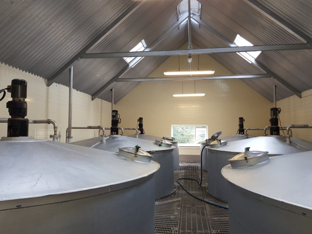 Benriach Washbacks