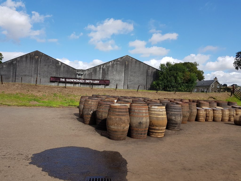 Casks And Warehouses At Glendronach