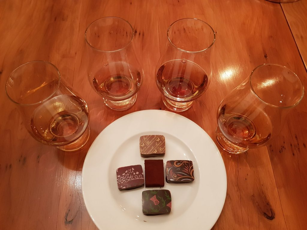 Glendronach And Chocolate Pairing