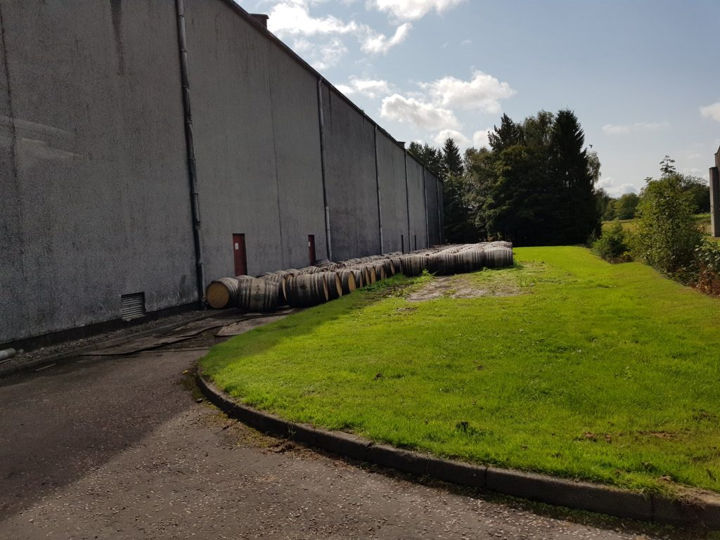 Glendronach Distillery Warehouse And Casks