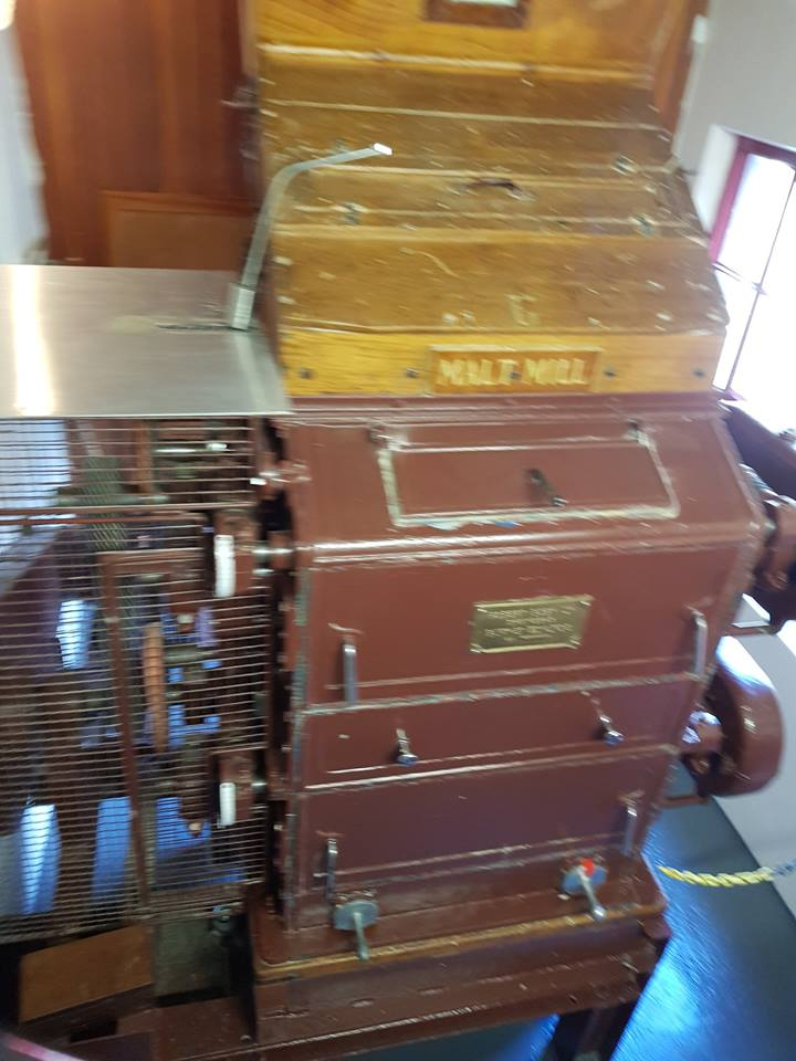 Blurry Glendronach Malt Mill Photo