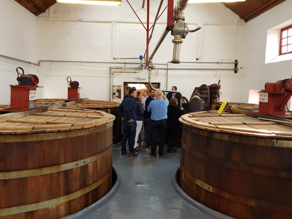How The Wort Gets To The Glendronach Washbacks