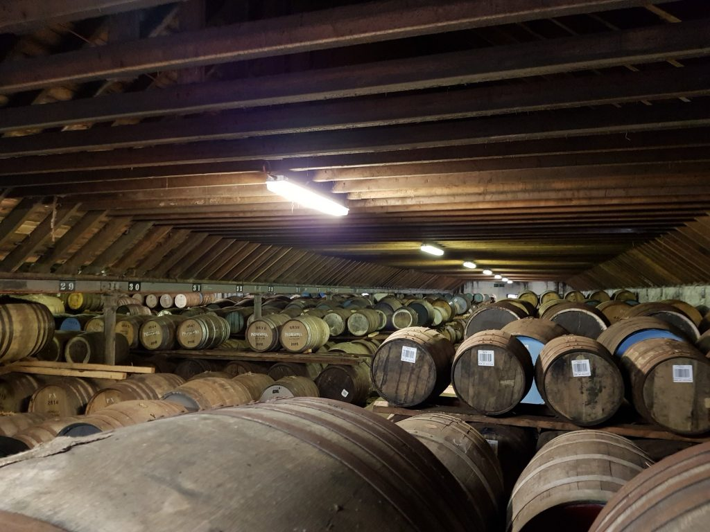 Inside A Benriach Warehouse