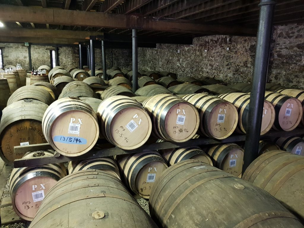 Inside Warehouse #2 At Glendronach