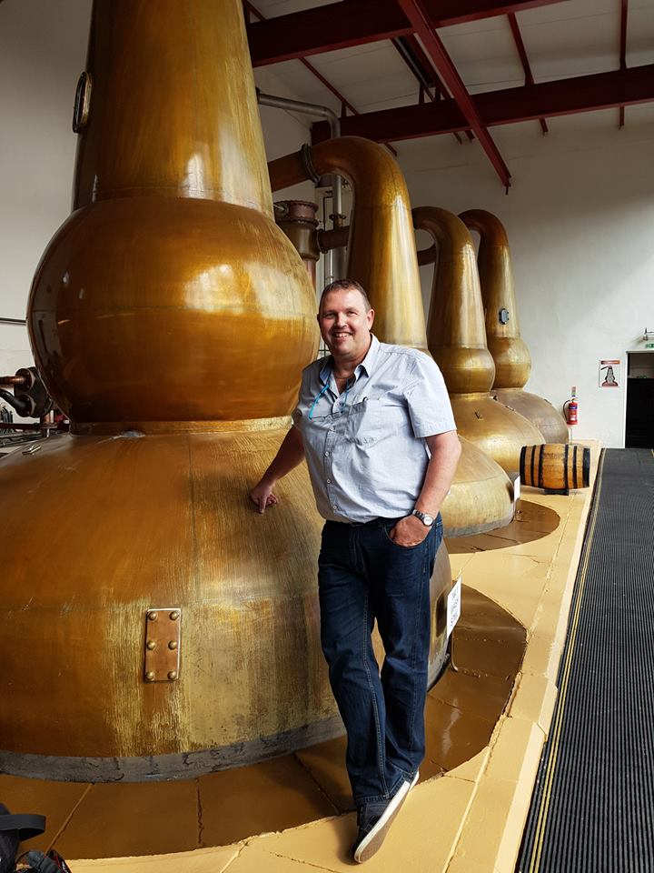 Jos And His New Toy In The Still House