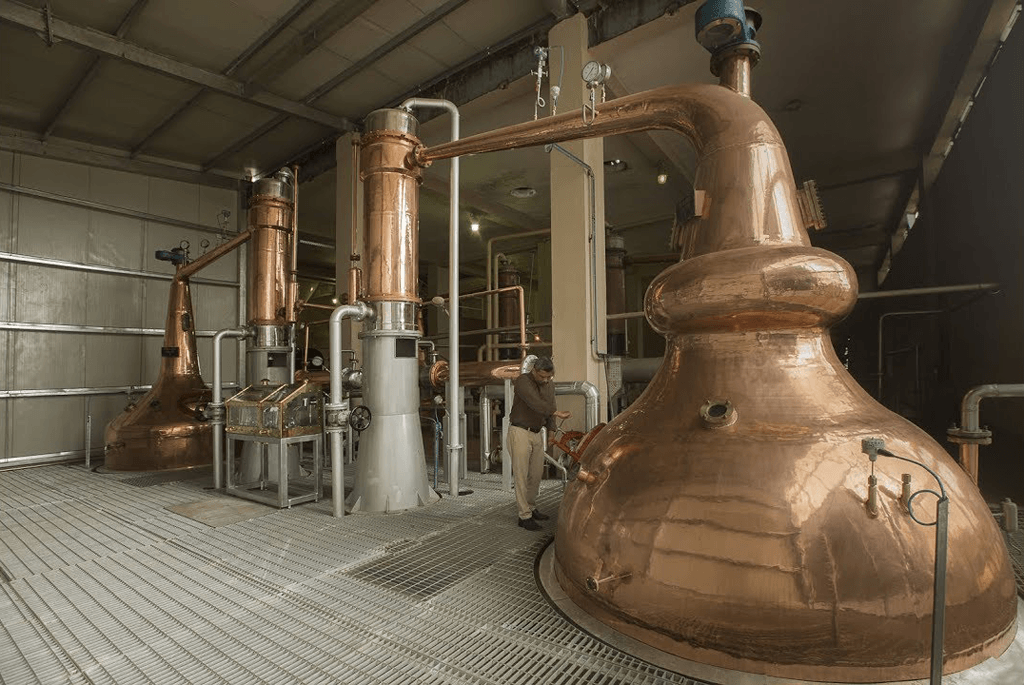 Paul John Distillery Stills
