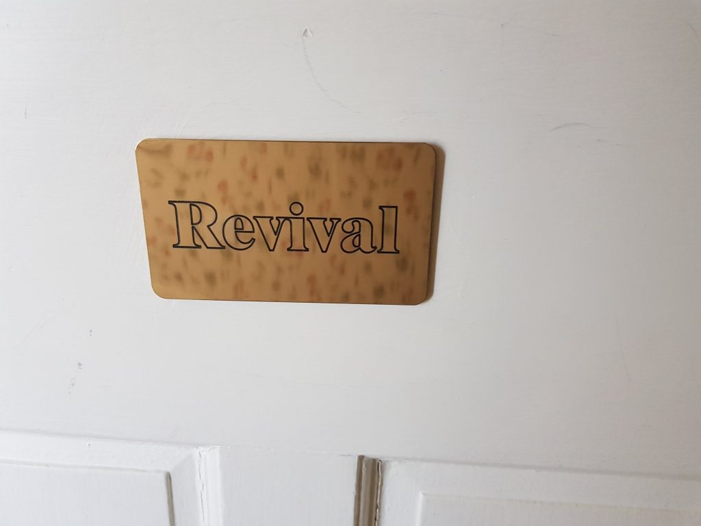Staying In The Revival Bedroom
