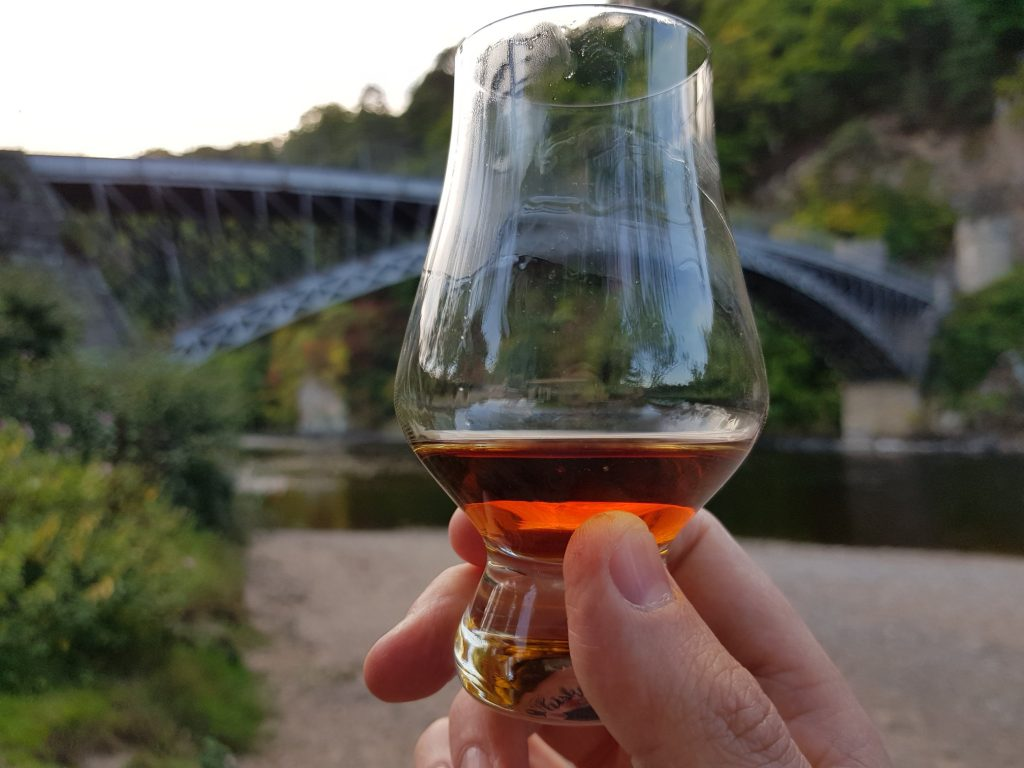 Sipping Glendronach On Craigellachie Beach
