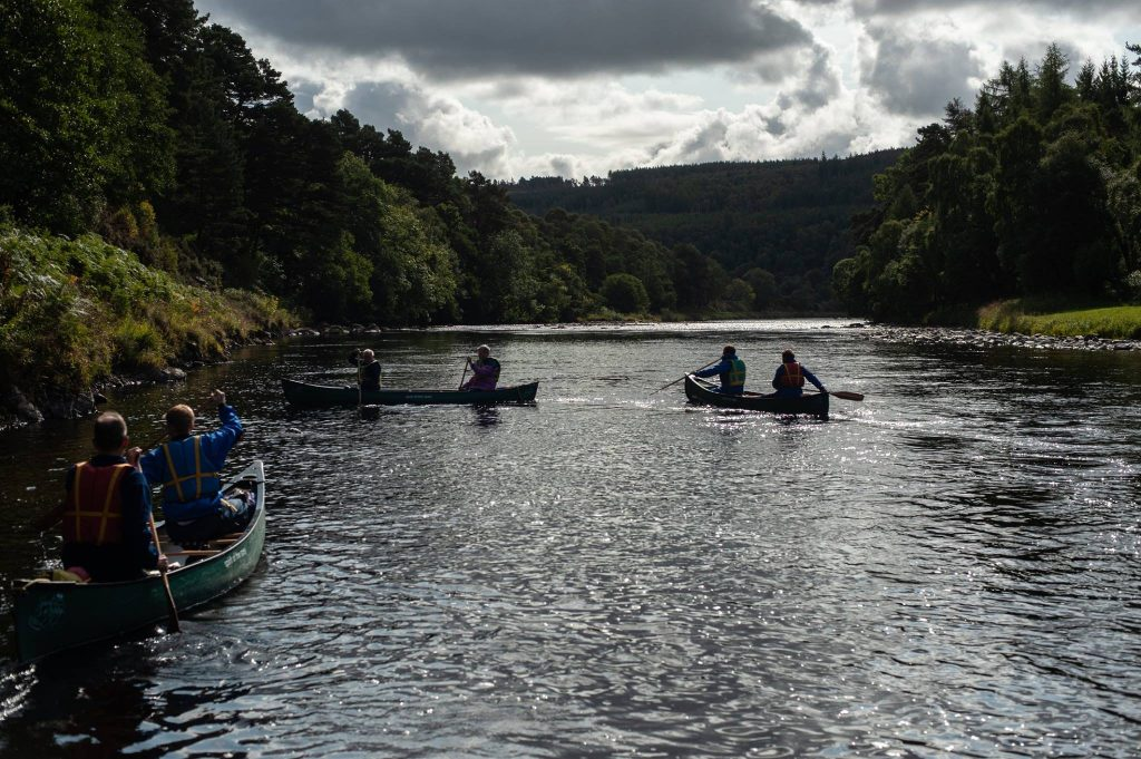 Spirit Of The Spey Canoeing