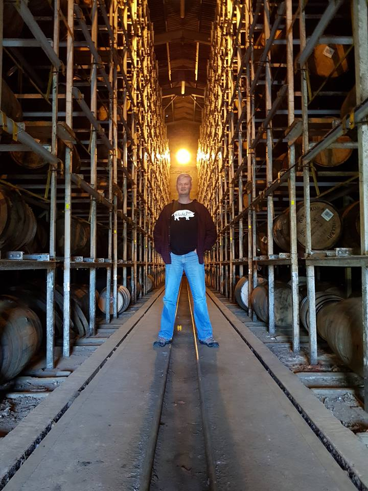 Standing Amongst The Casks
