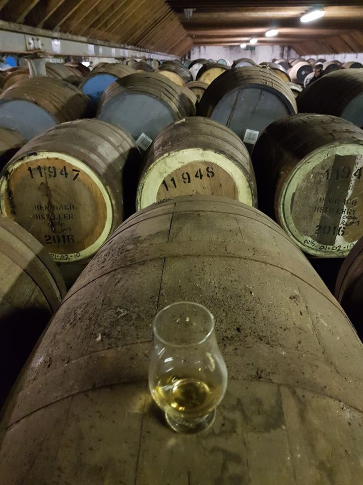 Tasting Benriach 21yo In The Warehouse