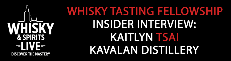 2018 Whisky Live WTF Insider Interview with Kaitlyn Tsai
